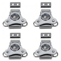 4x DAP Small Butterfly Lock (Silver)