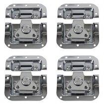 4x DAP Large Butterfly Lock (Silver)
