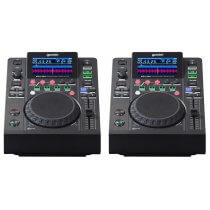 2x Gemini MDJ-500 Professional DJ Turntable