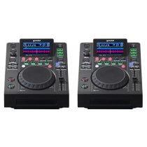 2x Gemini MDJ-600 Professional DJ Controller