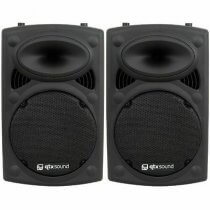 "2x QTX QR12K 12"" Active Speakers"