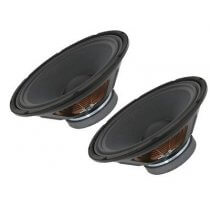 "2x QTX 12"" Replacement 400w Speaker Cones"