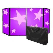 Simply Sound & Lighting Foldable DJ Screen inc. Carry Bag