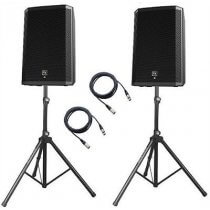 "2x Electro-Voice ZLX15P 1000w 15"" Active Speakers Bundle"