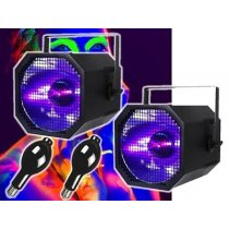 2x Equinox 400w Ultraviolet UV Cannon + lamp
