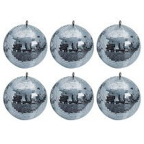 6x Showtec Mirrorball (Decoration)