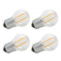 4x LLYT LED Golfball Lamp