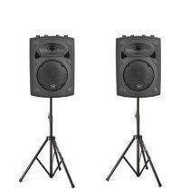 2x QTX QRK10 Sound System