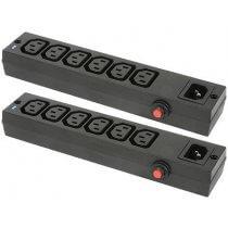 2x Mercury 6 Gang IEC Power Splitter