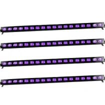 4x Ibiza Light UV Bar