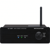 MONACOR MINI DIGITAL STEREO AMPLIFIER with BLUETOOTH™ STA40-BT