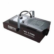 Fogtec VS1500 smoke fog machine DMX 1500w inc wireless remote & wired remote