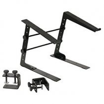 Adam Hall Stands SLT 001 Laptop Stand with Clamp