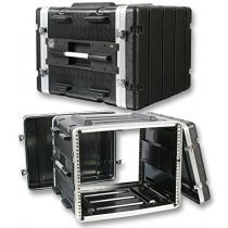 "PULSE  ABS-8U  RACK CASE, ABS, 19"", 8U"