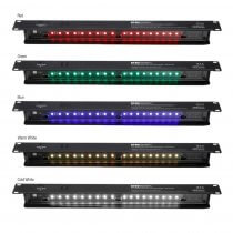 Adam Hall Multicolour Rack Light (1U) inc. Smart Sensor