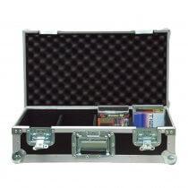 Accu Case ACF-SW/CD Case Pro Flightcase for 100 CD's DJ Disco PA