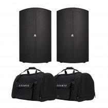 "Avante A12 Active 12"" Speaker System 2400W Pair Sound System PA DJ"