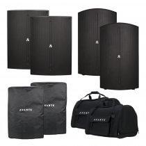 Avante 5600W Active PA Sound System Speaker A12 & A15S DJ Disco