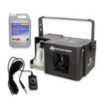 ADJ Entour Snow Professional High Power 1250W Snow Machine DMX inc Remote/Fluid