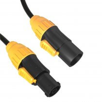 ADJ Powercon TRUE1 Power Lead 3m Neutrik Extension Cable