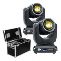 2x ADJ Vizi Beam 5RX 575W Moving Head inc Flightcase