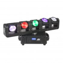 AFX Blade 5 FX LED Rotating 5 Head Moving Head Light Effect RGBW Beam DJ Disco