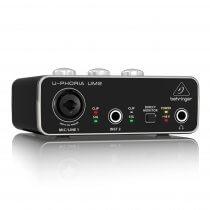 Behringer U-Phoria Audiophile 2x2 USB Audio Interface
