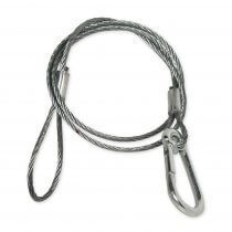 Chauvet DJ CH-05 Safety Cable Bond with threaded carabiner 800mm