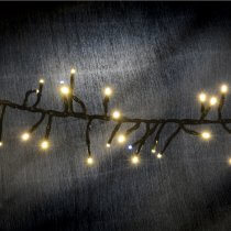 Lyyt Cluster LED Outdoor String Lights Twinkle Effect Warm White Fairy Light 7.5M