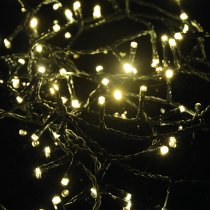Lyyt 200 LED String Light with Timer Control Warm White Christmas Lighting