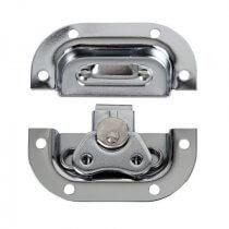 DAP Butterfly Lock Medium Metal Silver Flightcase Hardware Catch Recessed