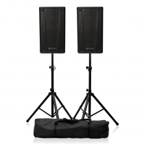 "dB Technologies B-Hype 10"" Active PA Speaker Bundle with Stands"