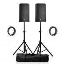 """2x Electro-Voice ELX200-15P Active 15"""" PA Speaker"""