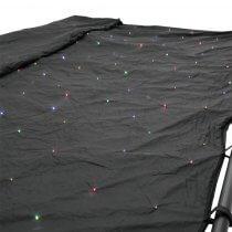 Eurolite RGBA LED DMX Starcloth Curtain (6m x 4m)