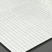 Eurolite Mirror Mat 800mm x 800mm Flexible Mirrorball Cover Board Party Glitter