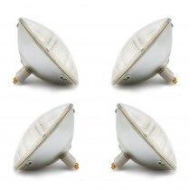 4x GE Brand PAR64 240V 1000W CP62 Lamps