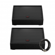 HH Electronic VRM-10A Active Stage Monitors Bundle