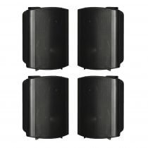 "4x HK Audio Install Speaker Black 6.5"" PA Sound System 120W 100V 8OHM"