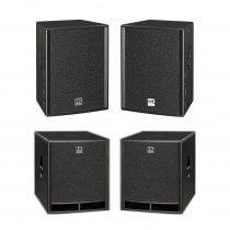 "HK Audio Premium PRO Passive 15"" Speaker Package 3600W DJ Sound System"