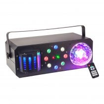 Ibiza Light Combi-FX 1 LED BoomBox Multi Effect Light inc. Remote