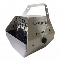 Ibiza Light LBM10 High Output Bubble Machine (White)
