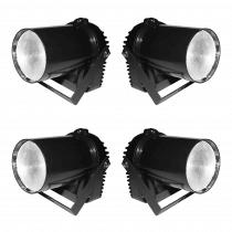 4x Ibiza Light LEDSPOT5 LED Pinspot 5W