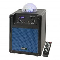 Ibiza Sound Portable Standalone Speaker with LED Astro