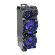 Ibiza Sound 300w Standalone Speaker Box inc. Wireless Mic