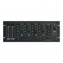IMG Stageline MPX-44/SW 6 Channel Rackmount DJ Mixer