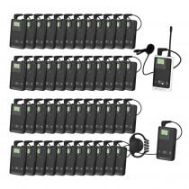 Stageline Tour Guide Translation Tourguide Wireless System for Group of 48 People
