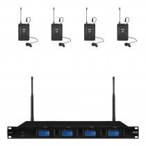 IMG Stageline UHF Wireless Tie Clip System System (Bundle 2)