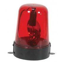 Ibiza Red Police Type Light Beacon Lamp 15-1001