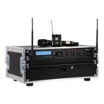 JTS 4-Way R-4 'All Racked Up' Complete Wireless System inc. Bodypacks & Flightcase