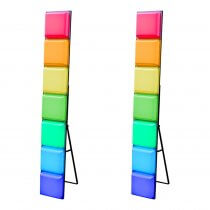 2x LEDj Classic LED Mood Bars